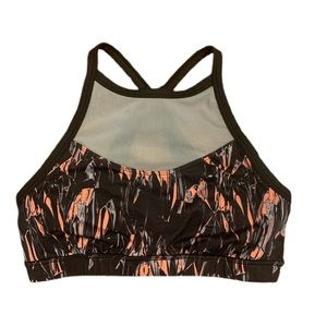 Adore Me racerback sports bra with mesh